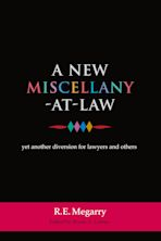 A New Miscellany-at-Law cover