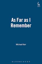 As Far as I Remember cover