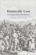 Homicide Law in Comparative Perspective cover