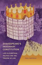 Shakespeare's Imaginary Constitution cover