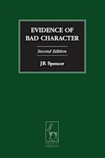 Evidence of Bad Character cover