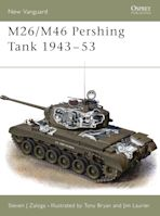 M26/M46 Pershing Tank 1943–53 cover