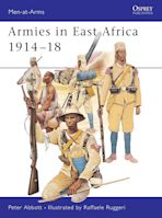 Armies in East Africa 1914–18 cover