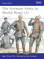 The German Army in World War I (1) cover