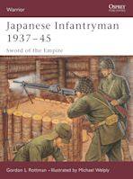 Japanese Infantryman 1937–45 cover