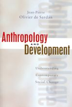 Anthropology and Development cover