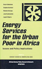Energy Services for the Urban Poor in Africa cover