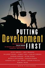 Putting Development First cover
