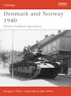 Denmark and Norway 1940 cover