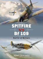 Spitfire vs Bf 109 cover