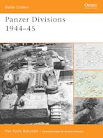 Panzer Divisions 1944–45 cover