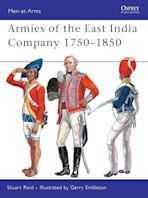 Armies of the East India Company 1750–1850 cover