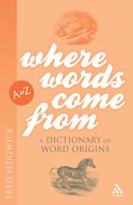 Where Words Come From cover