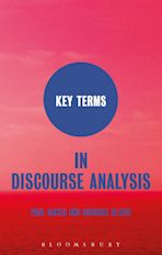 Key Terms in Discourse Analysis cover
