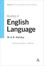 Studies in English Language cover
