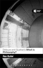 Deleuze and Guattari's 'What is Philosophy?' cover