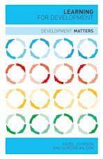 Learning for Development cover