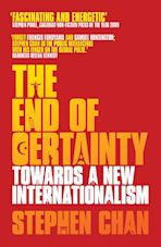 The End of Certainty cover