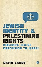 Jewish Identity and Palestinian Rights cover