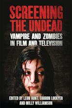 Screening the Undead cover