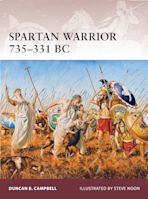 Spartan Warrior 735–331 BC cover