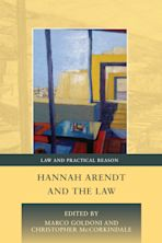 Hannah Arendt and the Law cover