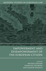 Empowerment and Disempowerment of the European Citizen cover
