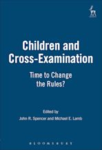 Children and Cross-Examination cover