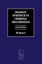 Hearsay Evidence in Criminal Proceedings cover