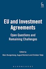 EU and Investment Agreements cover