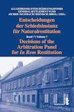 Decisions of the Arbitration Panel for In Rem Restitution, Volume 7 cover