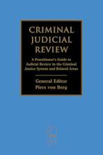 Criminal Judicial Review cover