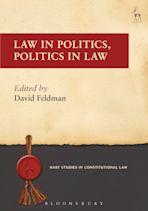 Law in Politics, Politics in Law cover