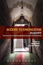Access to Knowledge in Egypt cover