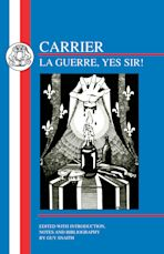 Roch Carrier: La Guerre, Yes Sir! cover