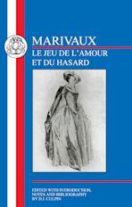 Marivaux: Le Jeu de l'Amour et du Hasard cover