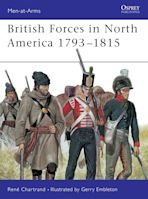 British Forces in North America 1793–1815 cover