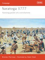 Saratoga 1777 cover