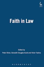 Faith in Law cover