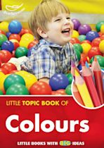 Little Topic Book of Colours cover