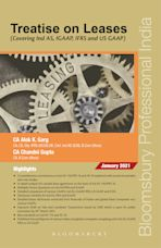 Treatise on Leases (Covering Ind AS, IGAAP, IFRS and US GAAP), First Edition cover