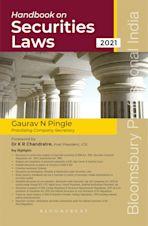 Handbook on Securities Laws cover