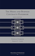 The Media and Business Contracts Handbook cover