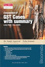 Compendium of GST Cases with Summary cover