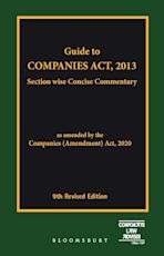 Guide to Companies Act, 2013 cover