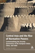 Central Asia and the Rise of Normative Powers cover