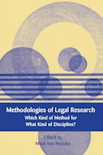 Methodologies of Legal Research cover