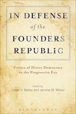 In Defense of the Founders Republic cover