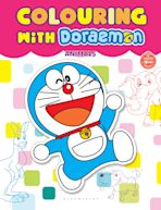 Colouring With Doraemon Animals cover