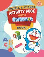 Puzzle & Sticker With Doraemon Activity Book 1 cover